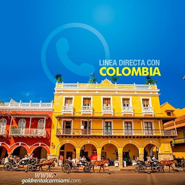 ¿Estás en Colombia? Contáctanos directamente y asegura tu auto para  para tu visita a Miami ���� ------------------------------------------------ www.goldrentalcarmiami.com USA: 7868003560 - VEN: 212-720-43-50 - COL: 15082316 - BRA: 1141186227 - ARG: 1151990511  info@goldrentalcarmiami.com _________  #Alquiler #Autos #Car #Rental #RentalCar #Florida #Miami #Vacaciones #DriveWhitUs #Orlando #Venezuela #Colombia #Argentina #Brasil #Panamá #Ecuador #Travel…