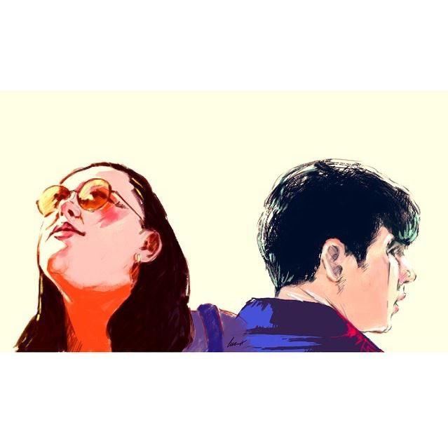 My mad fat diary: Rae and Finn