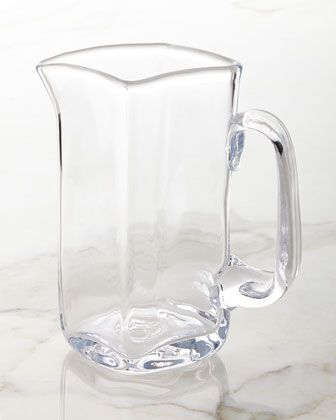 Woodbury Large Pitcher by Simon Pearce at Neiman Marcus.