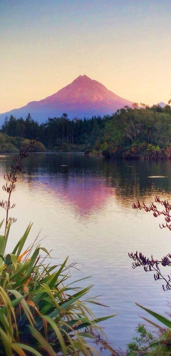 Lake Mangamahoe - Burgess Park, New Zealand