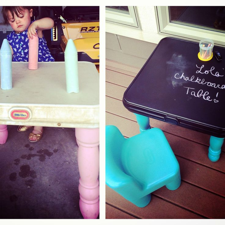 Little Tykes Table Makeover #littletykestablemakeover #tablemakeover