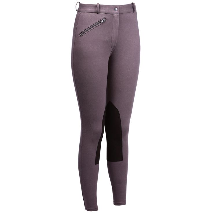 2016 Women's Breeches Riding Pants Soft cotton Equestrian Active Horse riding Pants with pocket hard-wearing Brown