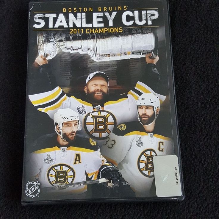 NHL Stanley Cup Champions 2010-2011 Boston Bruins DVD Hockey Zdeno Chara Thomas #BostonBruins #nhl