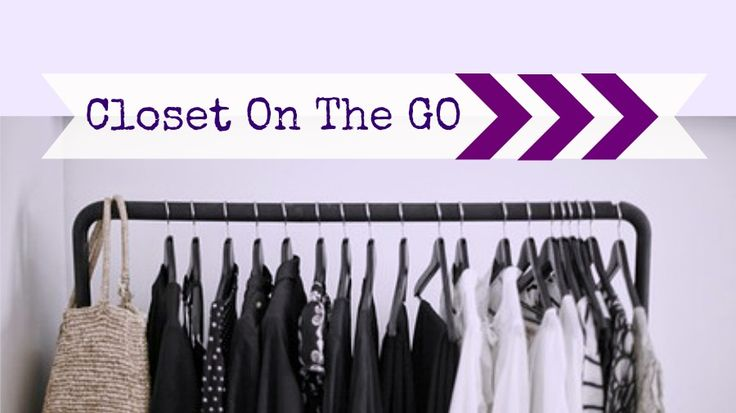 Clothing Rack organization- Closet On the Go