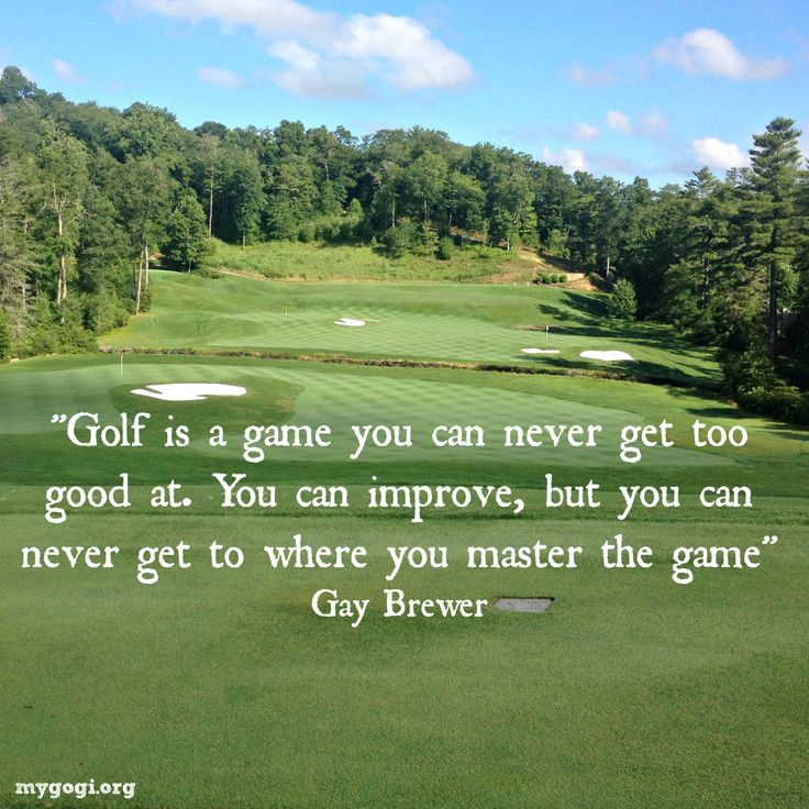 Inspirational Golf Quotes Entrancing 32 Best Golf Quotes Images On Pinterest  Golf Humor Golf Stuff
