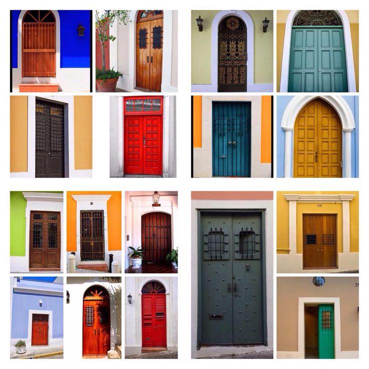 doors (puertas) Decoración de unas, Puertorriqueños y Islas