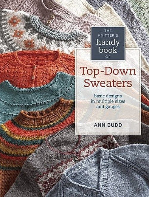 The Handy Book of Top-Down Sweaters by Ann Budd. On my wish list of books to add for resources!
