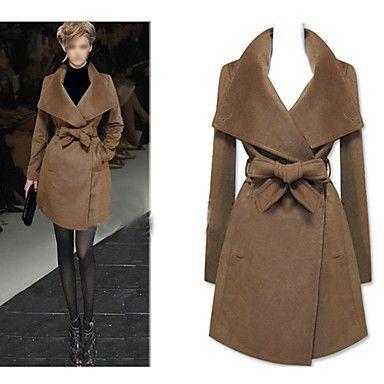 dama de la moda maxi abrigo – EUR € 43.88