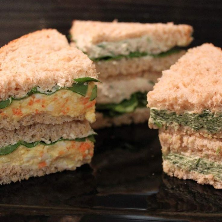 Recipe Trio of Sandwich Fillings by ClaireT - Recipe of category Sauces, dips & spreads