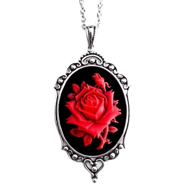 Couture By Lolita Rose Necklace - Red found on Polyvore