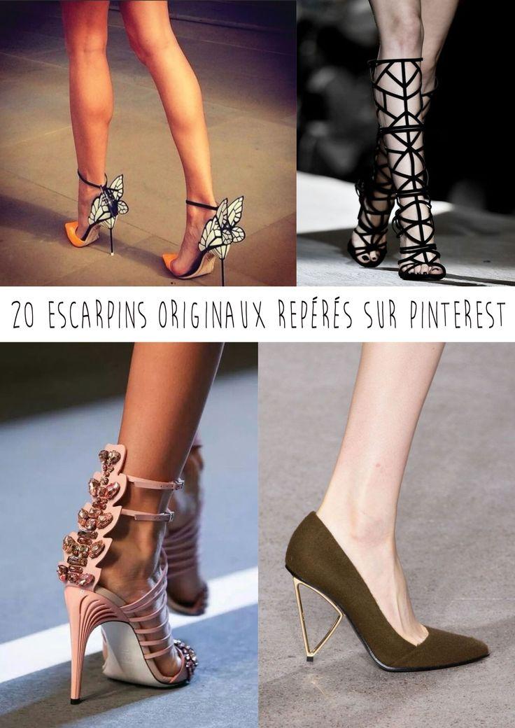 20 escarpins originaux repérés sur Pinterest, les chaussures les plus folles !