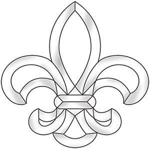 printable fleur de lis coloring pages - 1000 images about fleur de lis tattoo on pinterest free