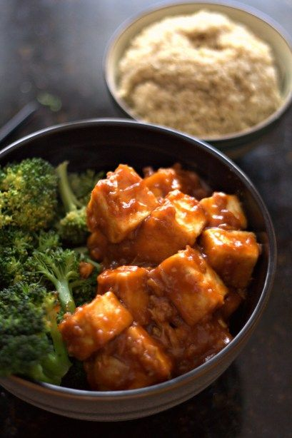 The General's Tofu - a great vegan recipe with wonderful flavor! plant-based