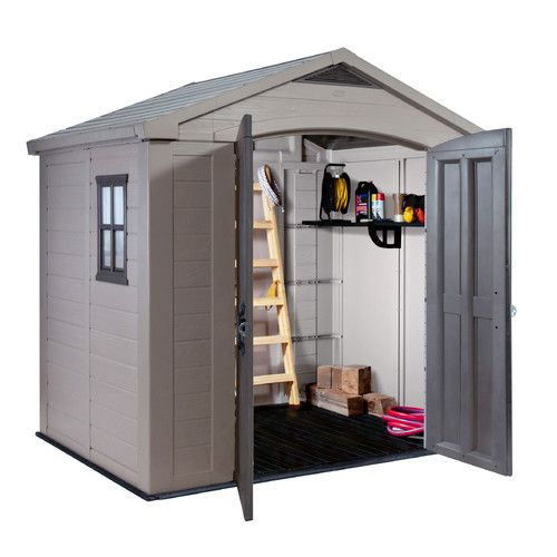 Found it at Wayfair - Factor 8 Ft. W x 6 Ft. D Resin Storage Shed