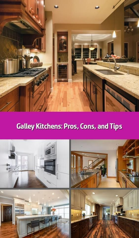 Galley Kitchens Pros Cons And Tips Whether You Re Thinking About Remodeling Your Kitchen Or Searching For A New Home And Weighing Your Options T Galley Kitchens Galley Kitchen Triangle