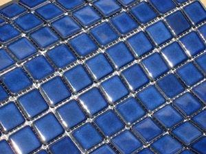 Cobalt Blue swimming pool ceramic mosaic tile