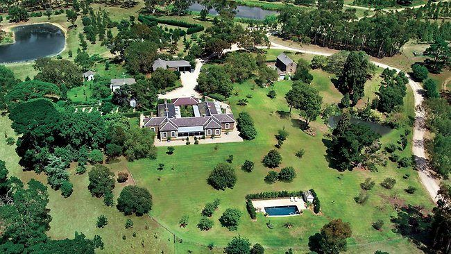 Large Bluestone Victorian Mansion located in the Western Districts of Victoria Australia