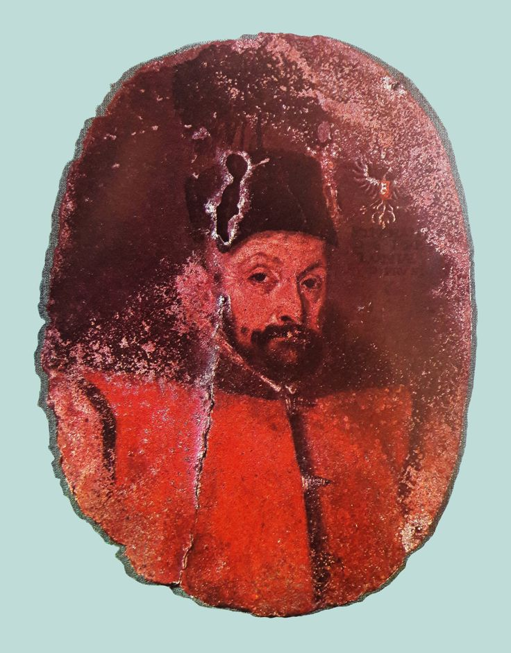 Miniature of Stephen Báthory from his coffin by circle of Martin Kober, 1576-1586 (PD-art/old), Muzeum Katedralne na Wawelu