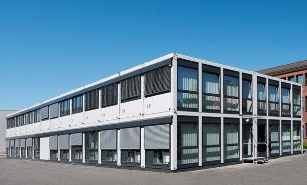 Mietlösung: Containergebäude mieten