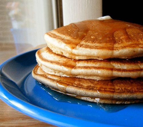 Low-carb pancakes.