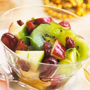 Fruit Brunch Medley - Honey and lime add snap to this fruit bowl with ...