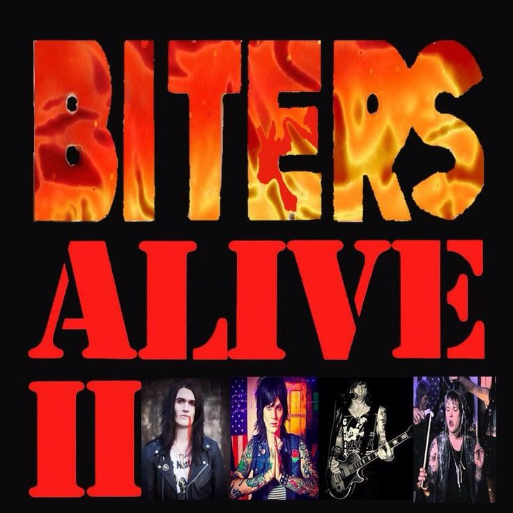 BITERS - Atlanta Rock and Roll Catch Them Live -  Thursday @ The Goat Farm Saturday @ The Drunken Unicorn