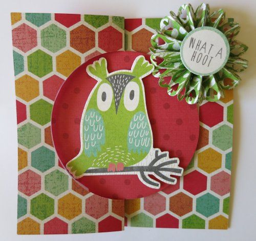 kaisercraft party animals card | What A Hoot Flip It Card - Hello Sunshine…