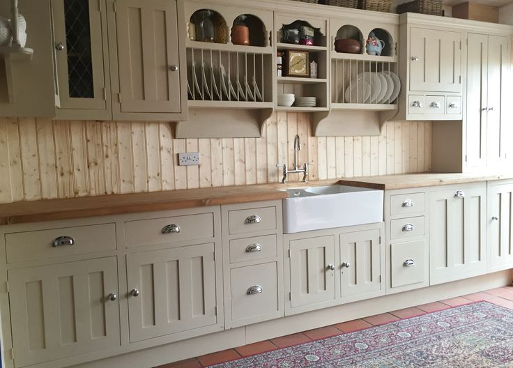 271 best kitchen images on pinterest kitchen modern for Farrow and ball bone