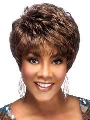 Custom 100% Human Hair Short Curly Brown Elegant Hot Sale Soft Wig