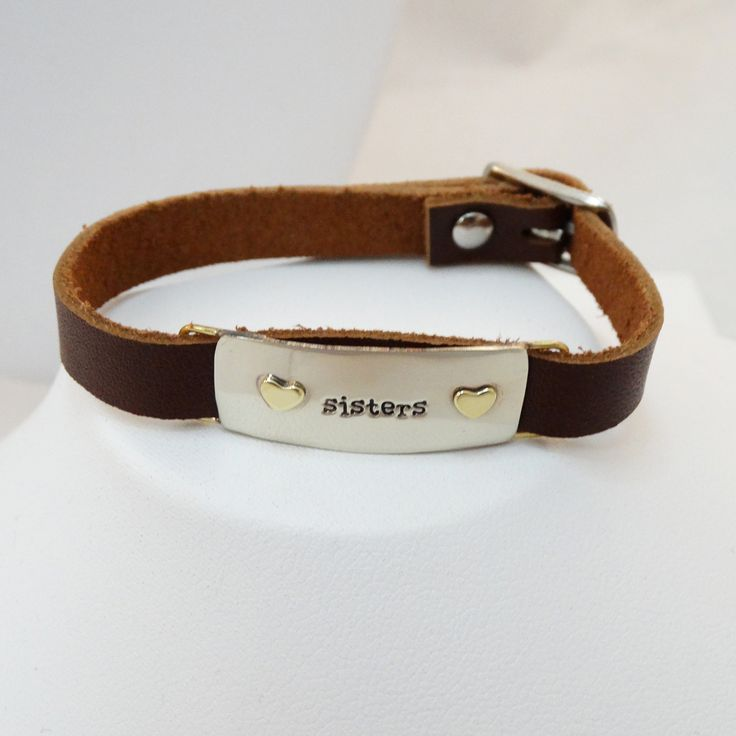 FashionJunkie4Life - Leather Sisters Buckle Bracelet, $22.00. Use coupon code PIN10 for 10% off your entire purchase.
