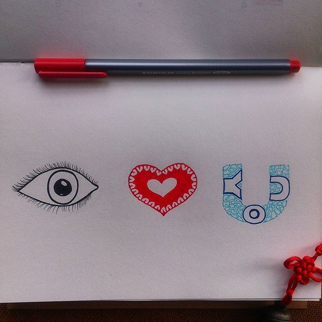 (Hand drawn illustration with pen of I love you) 'Eye love you' is available as merchandise for purchase on @postergully @cupick @paintcollar  Valentine's day special! #art #artwork #illustration #sketch #drawing #handlettering #typography #artistic #artist #design #eye #love #valentine #forsale #mystaedtler #creativity #doodle #forsale #india #bangalore #mumbai #delhi #heart #sketchbook #merchandise #instaartist #postergully #cupick #paintcollar #artoftheday