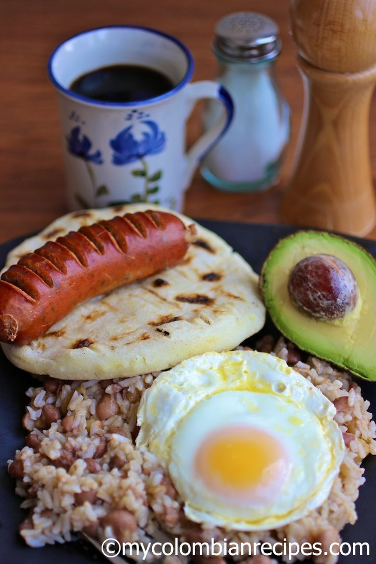 Traditional Colombian Breakfast (Calentado)