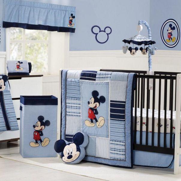 Mickey Mouse Baby Nursery Ideas