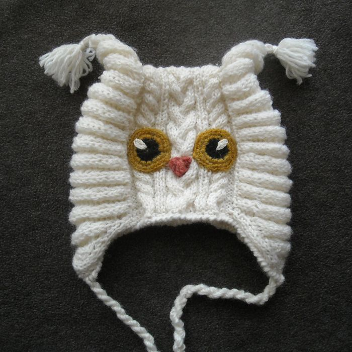 Схема вязания спицами шапочки для новорожденного | Сайт о рукоделии