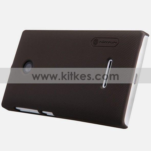 Microsoft Lumia 435 Nillkin Hard Case - Rp 99.000 - kitkes.com