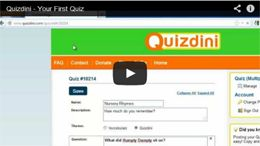Quizdini   It's not just easy, it's Quizdini!