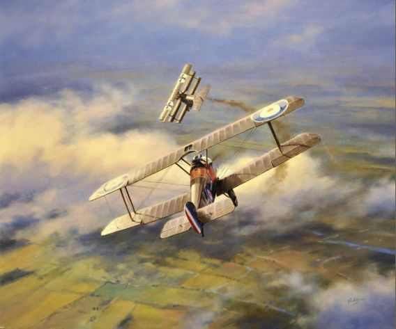 Aviation Art Painting by Terry Jones - Winged Victory BFD