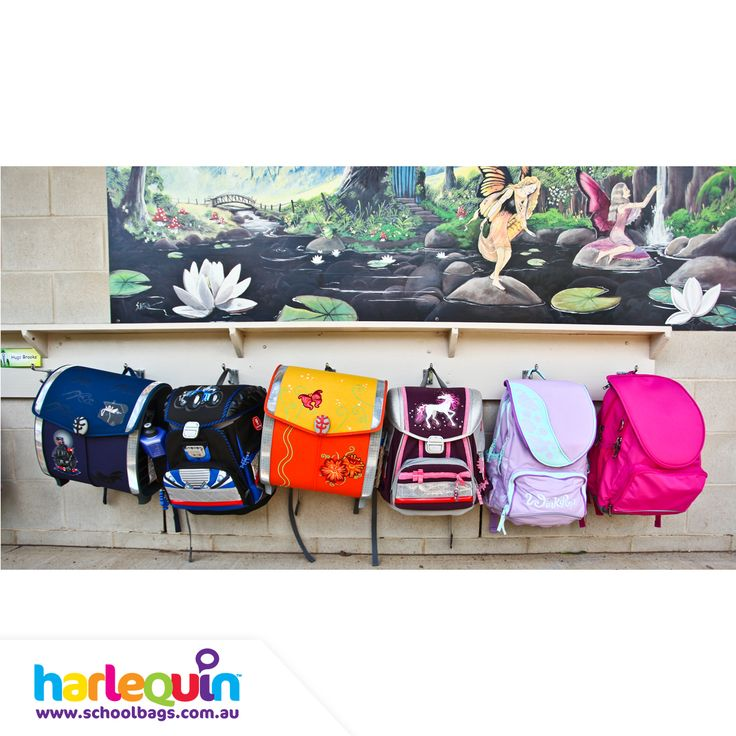 We offer FREE personalisation on all our Harlequin branded products. Get creative with a super fun design or add your child's name to make your own unique bag today!