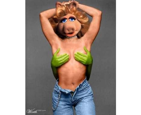 Miss Piggy Puppet Porn - 99 Savvy Sesame Street Remixes. The MuppetsFunny ...
