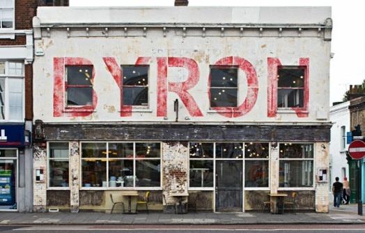Byron Hamburgers   Islington, London