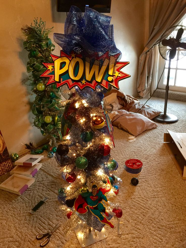 17 best images about superhero christmas tree on pinterest