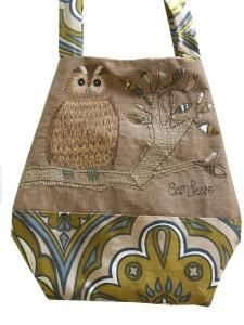 Samantha Peare Embroidered Textiles | Owl