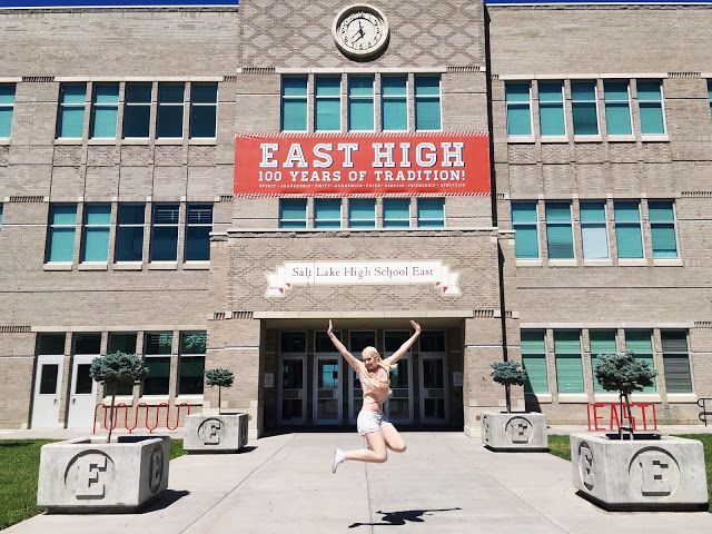 Rebecca, etc.: Travel Diary: Road Trip through Utah! (Saint George, Cedar City, Manti, Salt Lake City...) / High school musical / East High Wildcats