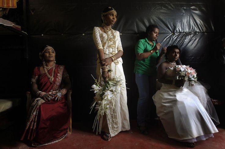 Afascinating look atdifferent wedding dresses from around the world - Sri Lanka
