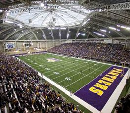 UNI Dome, Home of the UNI Football Team and UNI Men's and Women's Track and Field Team. Cedar Falls, IA.