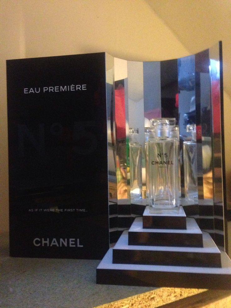 Chanel No 5 AU Premier Factice Presentoir Collectors Dummy Display 14x14x7 Inch | eBay