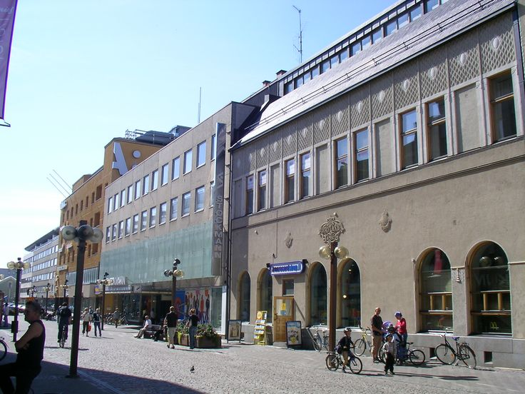 Stockmann Oulu-the biggest department store in the cetre of the city