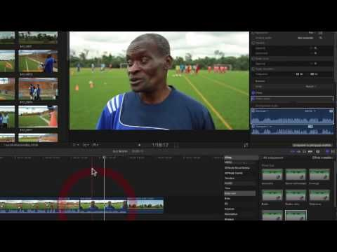 FCPX 10.3 #18. Corriger des sons - YouTube