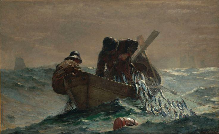The Herring Net - Winslow Homer Poster
