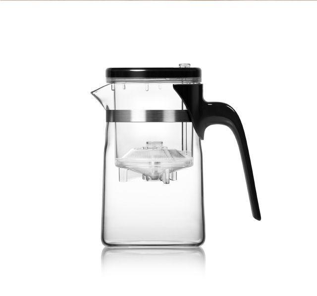 Teekanne Glas 500 ml mit Infuser von SAMADOYO